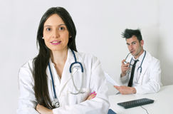 Health professionals Stock Images