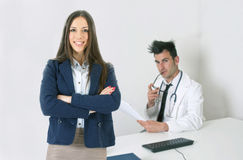 Health professionals Stock Photography