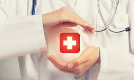 Health protection Royalty Free Stock Photography