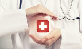 Health protection Stock Images