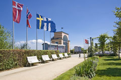 Health resort in Germany. Royalty Free Stock Photo