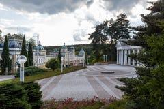 Health Ressort Marienbad in the Czech Republic Stock Images