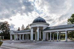 Health Ressort Marienbad in the Czech Republic Stock Photos