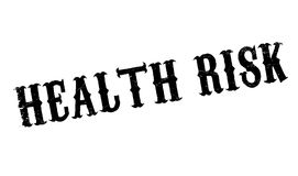 Health Risk rubber stamp Stock Images