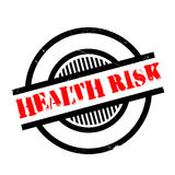 Health Risk rubber stamp Royalty Free Stock Photos