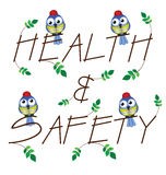Health and Safety Royalty Free Stock Images