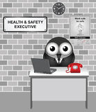 Health and Safety Executive Stock Image