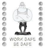 Health and Safety Message Stock Photos