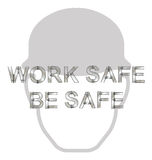 Health and Safety Message Royalty Free Stock Images