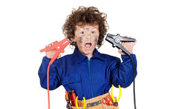 Health and safety prevention at work Royalty Free Stock Image