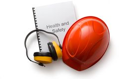Health and safety register royalty free stock photos