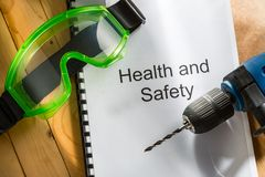 Health and safety register Stock Photos