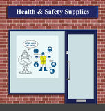 Health and Safety Supplies Royalty Free Stock Images