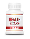 Health scare concept. Stock Image