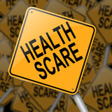 Health scare concept. Stock Images