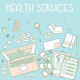 Health services Royalty Free Stock Photo