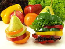 Health in slices Stock Image