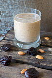 Health Smoothie with oats and prunes Stock Image