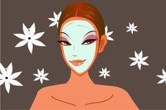 Health, Spa & Facial: Girl Refreshing Stock Photo