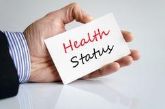 Health Status concept Royalty Free Stock Photos