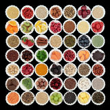Health and Superfood Collection Royalty Free Stock Images