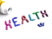 Health supplements concept Royalty Free Stock Images
