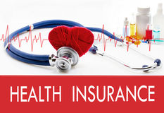 Health surveillance, health insurance Royalty Free Stock Images