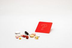 Health by tablets? Royalty Free Stock Photo