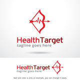 Health Target Logo Template Design Vector Stock Photography