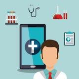 Health technology design Royalty Free Stock Photos