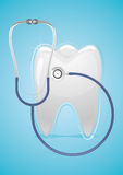 Health of teeth. Concern for the health of teeth Royalty Free Stock Photography