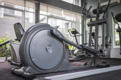 Health. Treadmill in a fitness health club Stock Photography