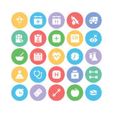 Health Vector Icons 5 Stock Photography