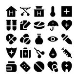 Health Vector Icons 2. This Health  icons pack is filled with wonderful emergency and health related s that will prove to be so useful and beneficial to the Royalty Free Stock Image