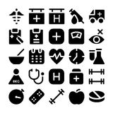 Health Vector Icons 5 Stock Images