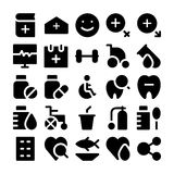 Health Vector Icons 3 Stock Photography