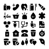 Health Vector Icons 4. This Health  icons pack is filled with wonderful emergency and health related s that will prove to be so useful and beneficial to the Royalty Free Stock Image