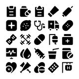 Health Vector Icons 6 Stock Image