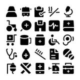 Health Vector Icons 8. This Health  icons pack is filled with wonderful emergency and health related s that will prove to be so useful and beneficial to the Royalty Free Stock Photography