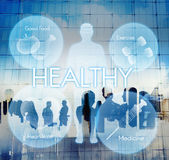 Health Wellbeing Wellness Vitality Healthcare Concept stock photo