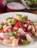 Health White Bean Salad Royalty Free Stock Photos