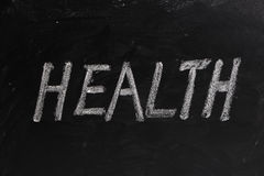 Health Word Royalty Free Stock Photos