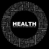 HEALTH stock illustration