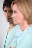 Health workers Royalty Free Stock Photography