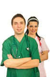 Health workers team Royalty Free Stock Photography