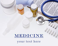 Healthcare background concept Stock Images