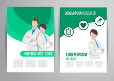 Healthcare brochure Stock Photography