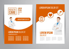 Healthcare brochure Royalty Free Stock Images
