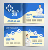 Healthcare brochure Royalty Free Stock Photography