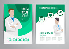 Healthcare brochure Royalty Free Stock Image
